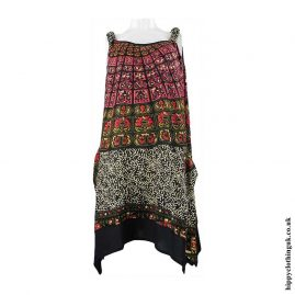 Batik-Patterned-Hippy-Dress