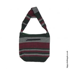 Cotton-Shirt-Hippy-Shoulder-Bag-Green