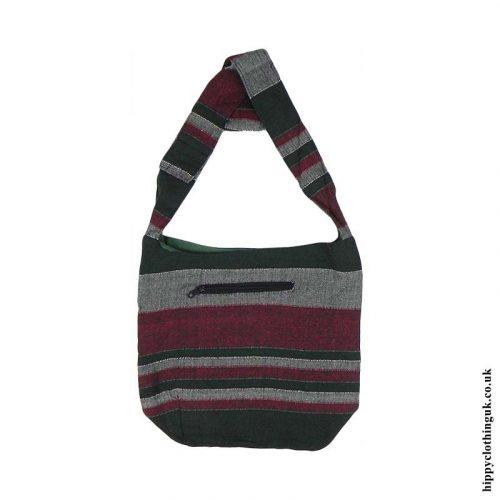 Cotton-Shirt-Hippy-Shoulder-Bag-Green