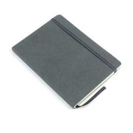 Grey-Faux-Leather-Bound-Notebook