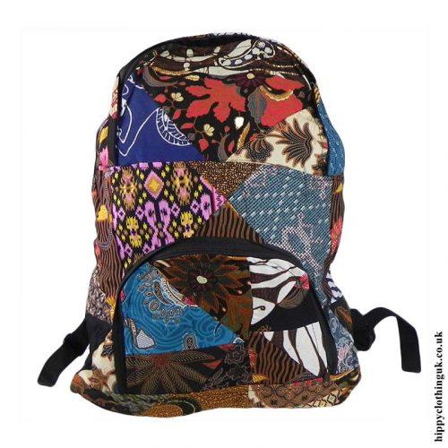 Multicoloured-Patchwork-Backpack-Rucksack