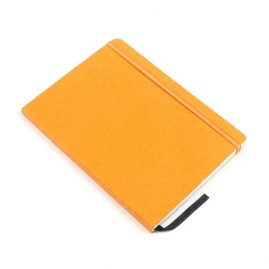 Orange-Faux-Leather-Bound-Notebook