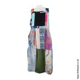 Patchwork-Dungaree-Hippy-Dress