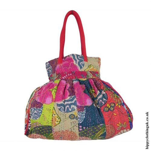 Patterned-Beach-Bag