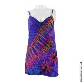 Purple-Tie-Dye-Hippy-Vest-Top