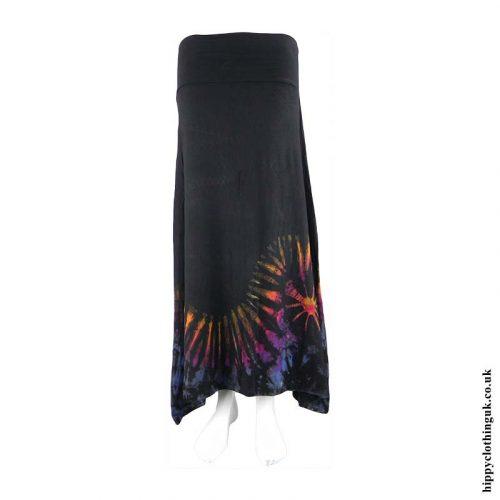 Tie-Dye-Pixie-Hem-Hippy-Skirt