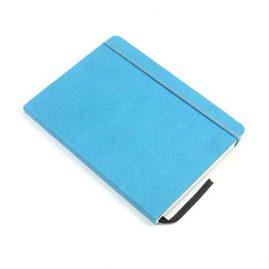 Turquoise-Faux-Leather-Bound-Notebook