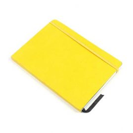 Yellow-Faux-Leather-Bound-Notebook