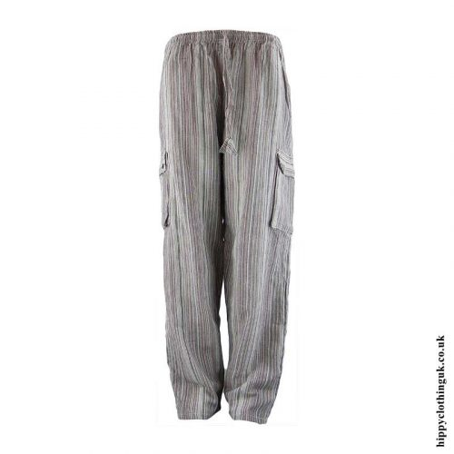 Beige-Striped-Cotton-Hippy-Trousers