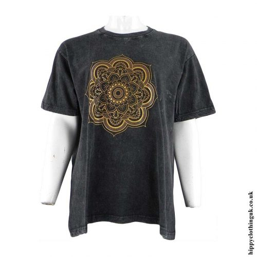 Black-Stonewashed-Mandala-T-Shirt