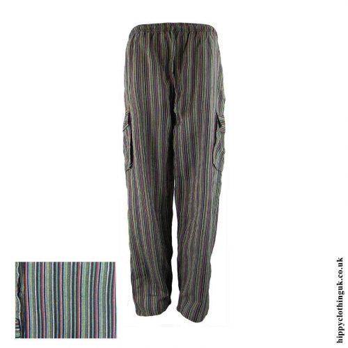 Black-Striped-Cotton-Hippy-Trousers