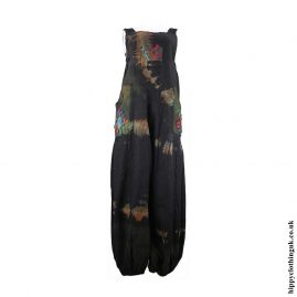 Black-Tie-Dye-Hippy-Patchwork-Dungarees
