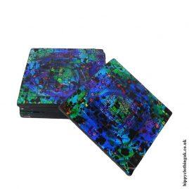 Blue-Multicoloured-set-of-6-Mosaic-Coasters-
