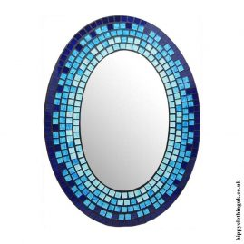 Blue-Oval-Mosaic-Mirror