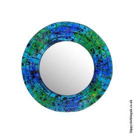 Blue-Round-Mosaic-Mirror-24cm