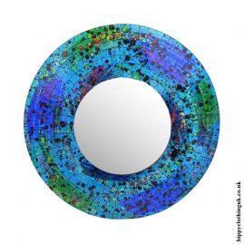 Blue-Round-Mosaic-Mirror-40cm