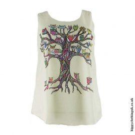Cream-Owl-Tree-Hippy-Vest-Top