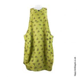 Green-Cotton-Hippy-Bee-Dress