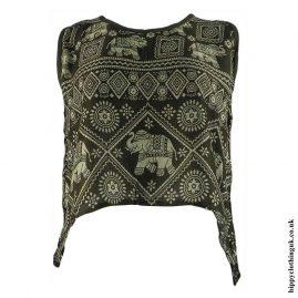 Green-Thai-Elephant-Open-Back-Hippy-Top
