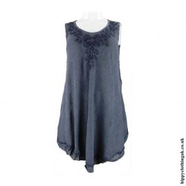Grey-Embroidery-Hippy-Blouse