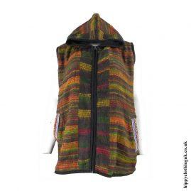 Multicoloured-Hippy-Gilet-Sleeveless-Jacket