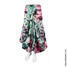 Multicoloured-Tie-Dye-Balloon-Skirt