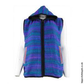 Turquoise-Hippy-Gilet-Sleeveless-Jacket