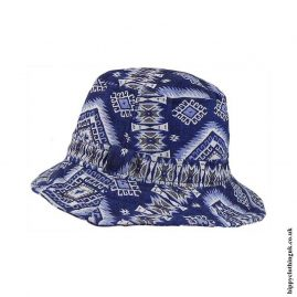 Blue-Multicoloured-Patterned-Hippy-Hat