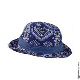 Blue-Patterned-Hippy-Hat