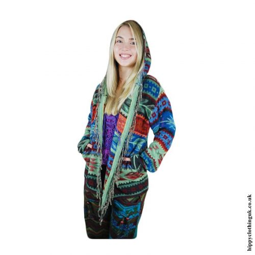 Acrylic-Wool-Hippy-Jacket-Person
