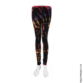 Black-Long-Tie-Dye-Leggings