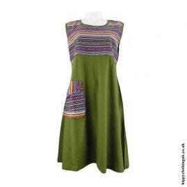 Green-Gheri-Cotton-Patch-Dress