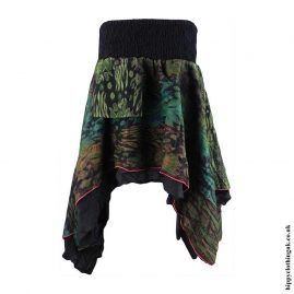 Multicoloured-Cashmilon-Hippy-Pixie-Skirt