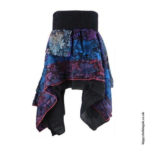 Multicoloured-Cashmilon-Hippy-Pixie-Skirt