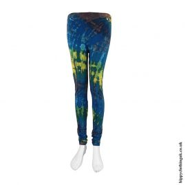 Multicoloured-Long-Tie-Dye-Leggings