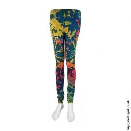 Multicoloured-Long-Tie-Dye-Leggings