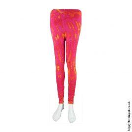 Pink-Long-Tie-Dye-Leggings