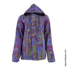 Purple-Gheri-Cotton-Hooded-Jacket
