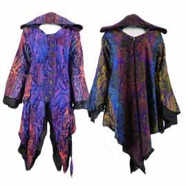 Long Cashmilon Pixie coat