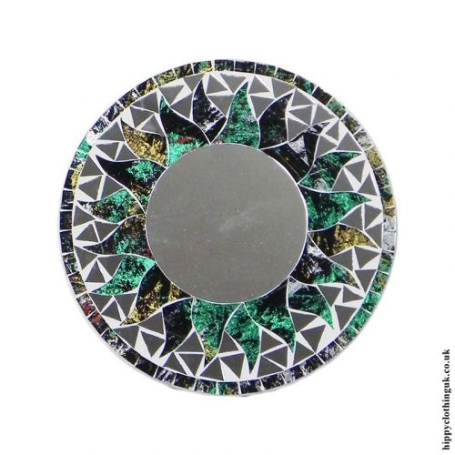 Green-Fair-Trade-Mosaic-Mirror-20cm