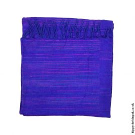 Purple-Striped-Acrylic-Blanket
