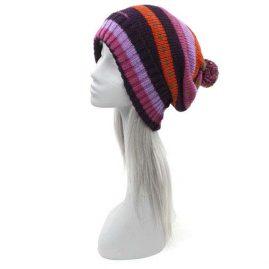 Purple-Wool-Fleece-Lined-Bobble-Hat.