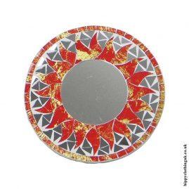Red-Fair-Trade-Mosaic-Mirror-20cm