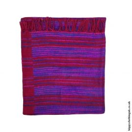 Red-Striped-Acrylic-Blanket