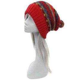 Red-Wool-Fleece-Lined-Bobble-Hat