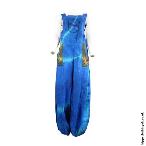 Turquoise-Tie-Dye-Hippy-Patchwork-Dungarees-a
