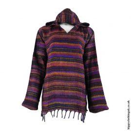 Black-Acrylic-Wool-Hooded-Top