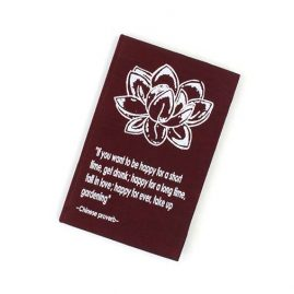 Burgundy-Lotus-Flower-Notebook