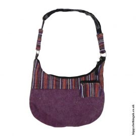 Burgundy-Stonewashed-Shoulder-Bag