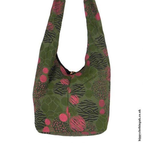 Green-Patterned-Shoulder-Bag